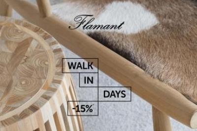 Walk in Days -15% Flamant